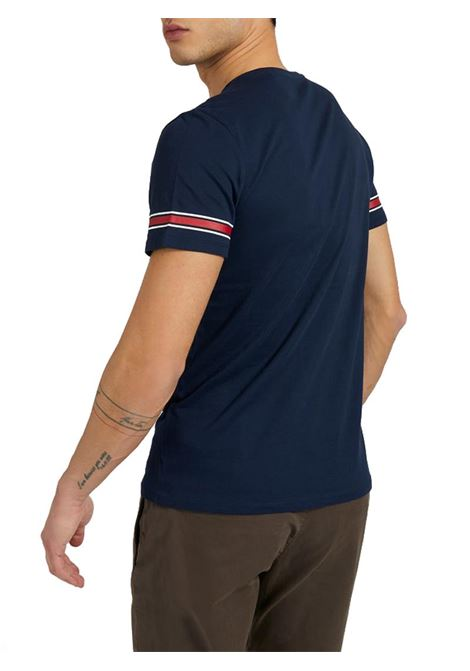 T-SHIRT STAMPA FRONTALE GUESS | T-shirt | M1RI56K8HM0S77EBLUE