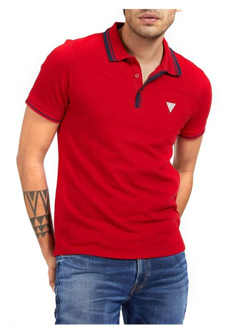 POLO LOGO TRIANGOLO GUESS | Polo | M1RP60K7O61TLRDRED