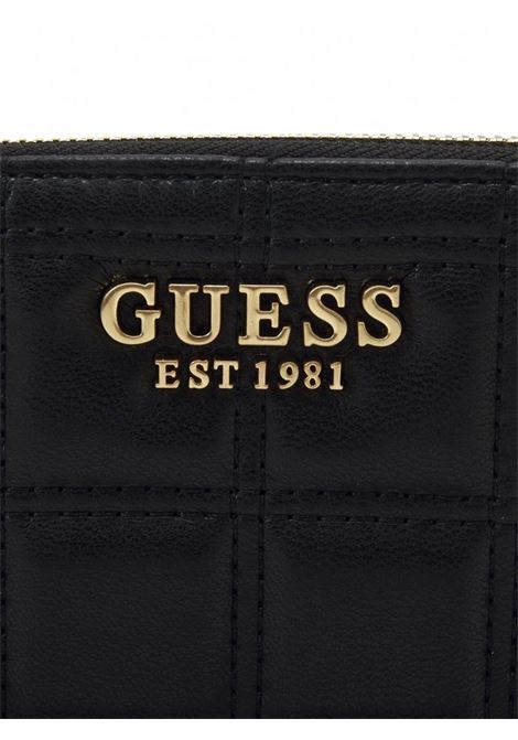 KAMINA LARGE ZIP AROUND GUESS | Portafoglio | SWVS8111460BLACK