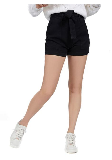 SHORTS RELAXED CINTURA GUESS | Short | W1GD0DWDP82A996BLACK