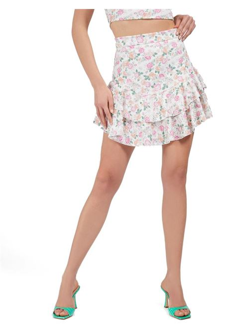 GONNA PIZZO SANGALLO GUESS | Gonna | W1GD0FKALQ0P06XROSES