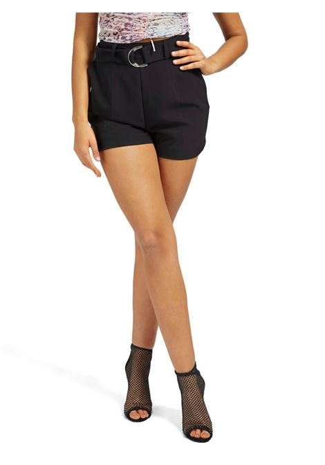 SHORTS REGULAR CINTURA GUESS | Short | W1GD1EWB4H2A996BLACK