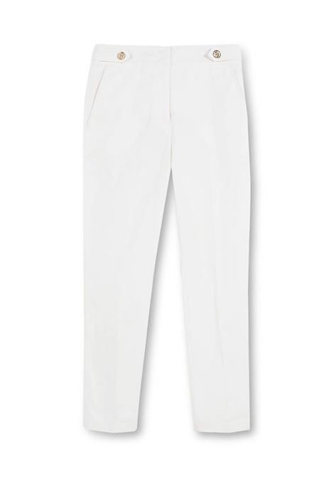 PANTALONE CROPPED CON BOTTONI LIU JO COLLECTION | Pantalone | CA1005T2398X0256STARWHITE