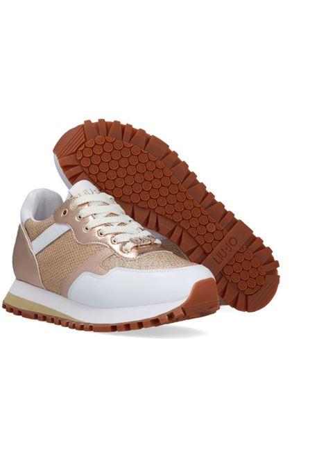 SNEAKERS WONDER LIU JO SPORT | Sneakers | BA1049TX16303D05WHITEGOLD