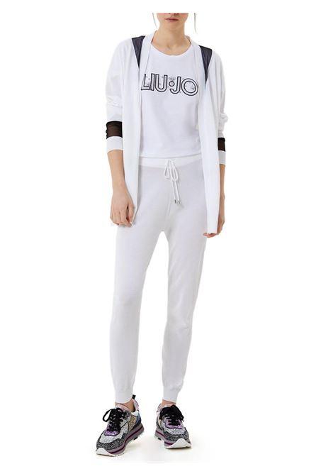 T-SHIRT CON LOGO LIU JO SPORT | T-shirt | TA1026J500311110BIANCO