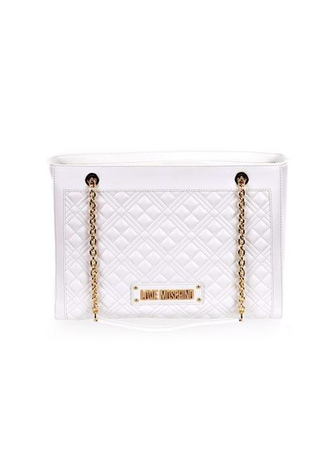 BORSA QUILTED LOVE MOSCHINO | Borsa | JC4006PP1CLA0100BIANCO