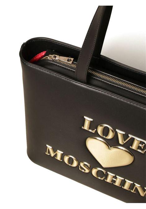 BORSA A SPALLA CON LOGO LOVE MOSCHINO | Borsa | JC4051PP1CLF0000NERO
