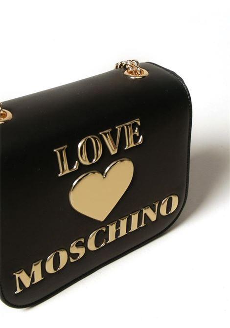 BORSA A TRACOLLA CON LOGO LOVE MOSCHINO | Borsa | JC4052PP1CLF0000NERO