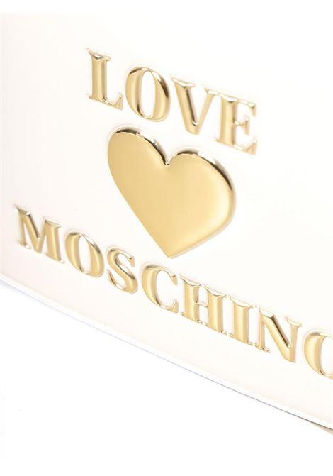 BORSA A TRACOLLA IN PELLE SINTETICA LOVE MOSCHINO | Borsa | JC4054PP1CLF0100BIANCO