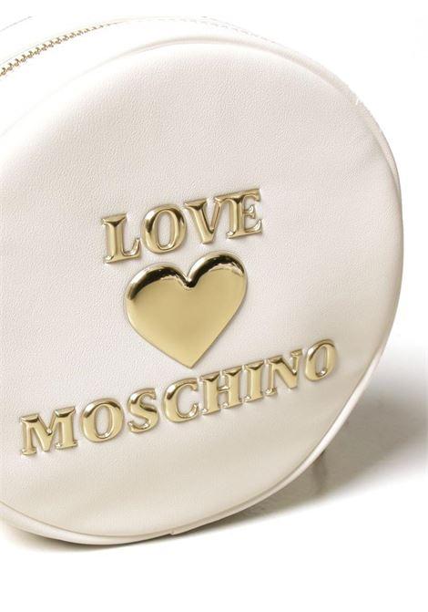 BORSA A TRACOLLA CUORE GOLD LOVE MOSCHINO | Borsa | JC4055PP1CLF0100BIANCO