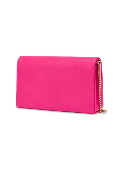 CLUTCH PADDED HEART LOVE MOSCHINO | Borsa | JC4083PP1CLF0604FUXIA