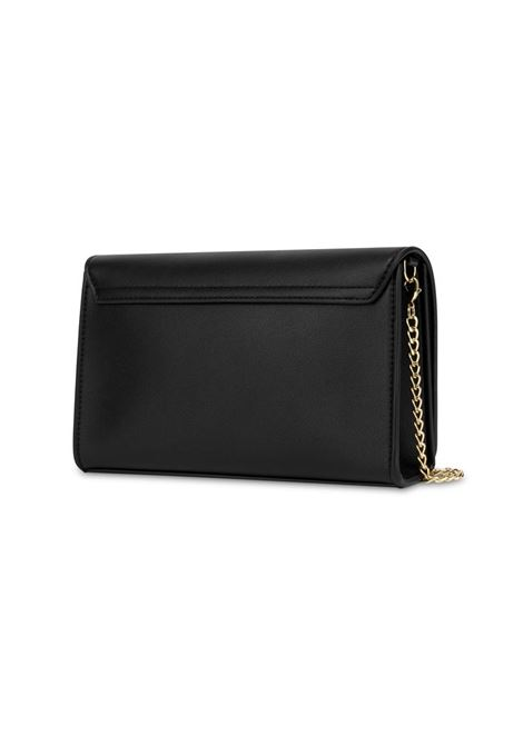 CLUTCH GOLD METAL LOGO LOVE MOSCHINO | Borsa | JC4127PP1CLN2000NERO