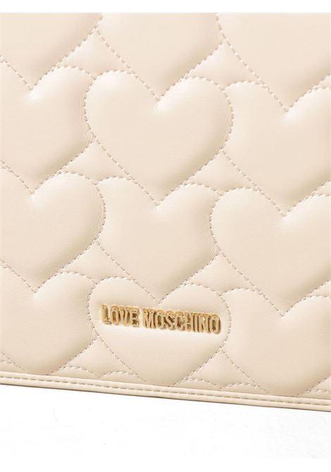 BORSA CON TRACOLLA LOVE MOSCHINO | Borsa | JC4248PP0CKG0110AVORIO