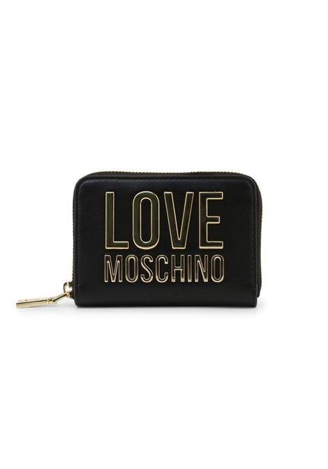 PORTAFOGLIO CON LOGO LOVE MOSCHINO | Portafoglio | JC5613PP1CLJ000ANERO