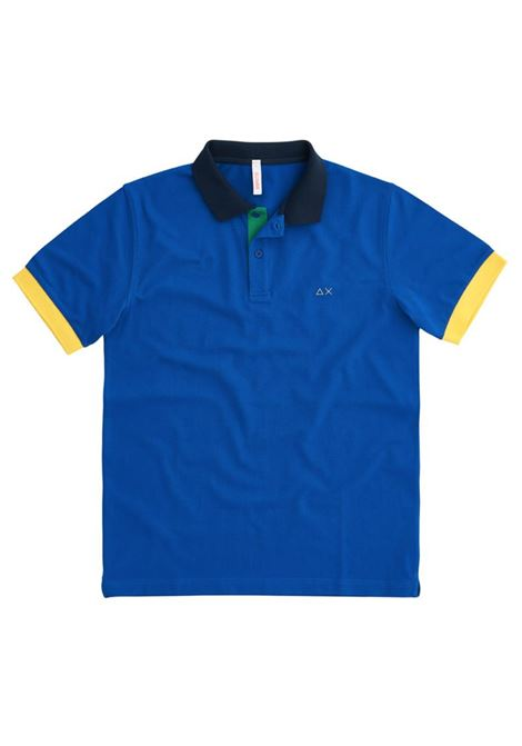 POLO 3 COLOR WAY EL SUN68 | Polo | A3111258ROYAL