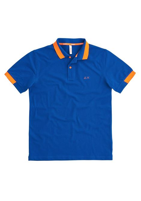 POLO SMALL STRIPES FLUO EL SUN68 | Polo | A3111958ROYAL