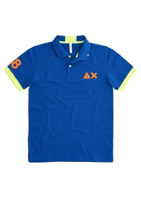 POLO LOGO FLUO EL SUN68 | Polo | A3112058ROYAL