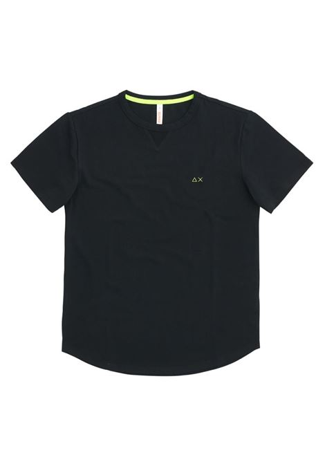T-SHIRT SOLID EL SUN68 | T-shirt | T3111411NERO