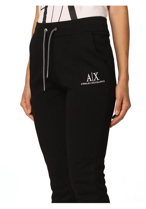 PANTALONE CON LOGO AX ARMANI EXCHANGE | Pantalone | 6KYP82YJ3NZ1200BLACK