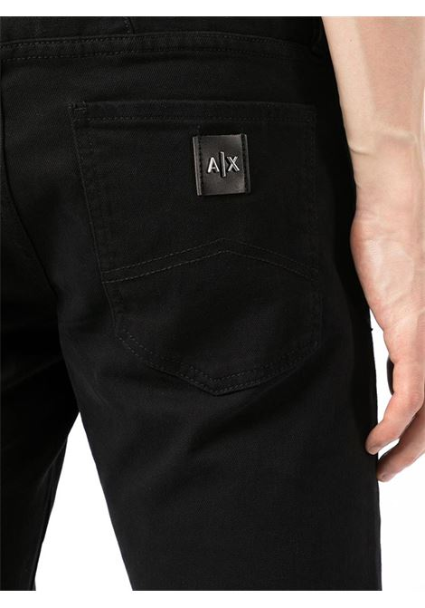 JEANS SLIM AX ARMANI EXCHANGE | Pantalone | 8NZJ14Z1SBZ1200BLACK