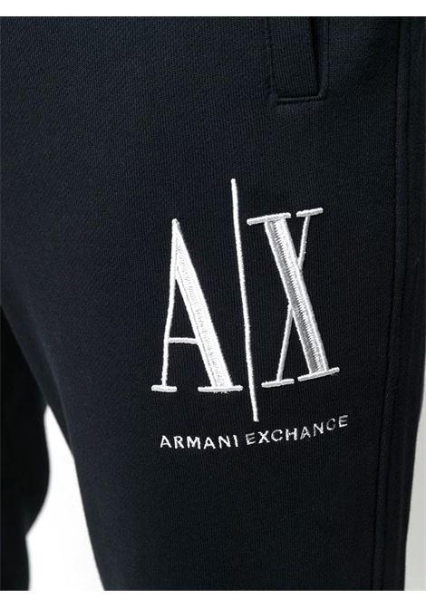 PANTALONI SPORTIVI CON LOGO AX ARMANI EXCHANGE | Pantalone | 8NZPPAZJ1ZZ1200BLACK