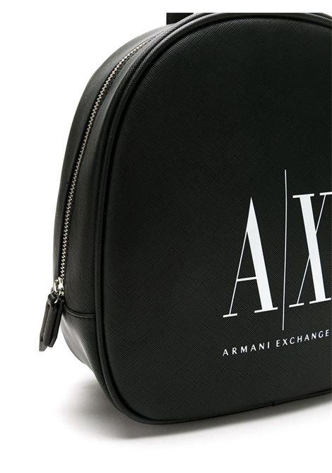 ZAINO CON STAMPA AX ARMANI EXCHANGE | Zaino | 9425630P19800121NEROBIANCO