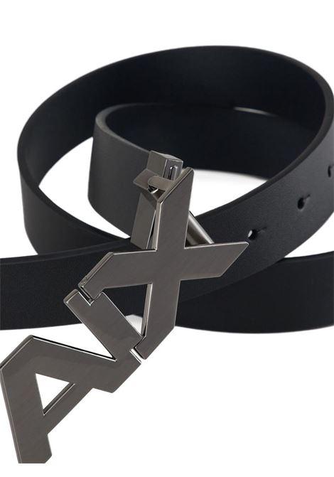 CINTURA IN PELLE AX ARMANI EXCHANGE | Cintura | 951058CC50543120BLACK