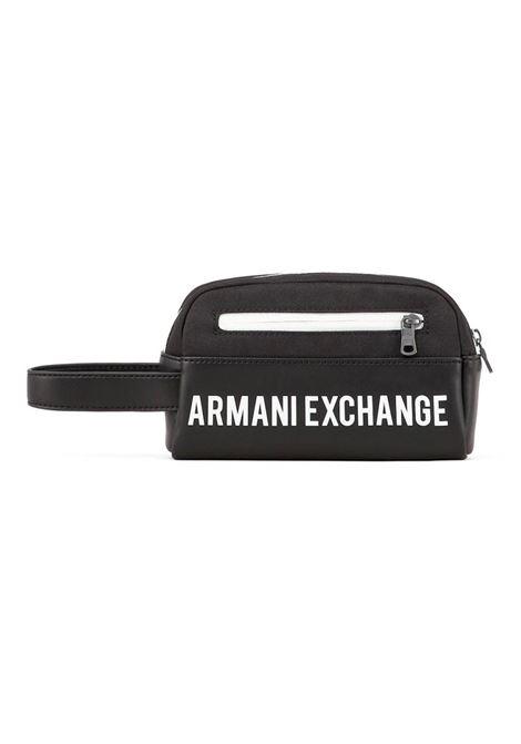 BORSA BEAUTY CASE AX ARMANI EXCHANGE | Borsa | 9584101A80306021BLACK