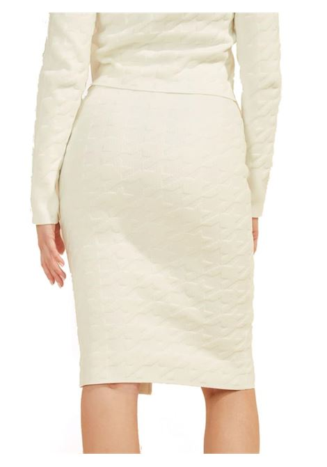 GONNA ALEXA SWEATER GUESS BY MARCIANO | Gonna | 1BGD145661ZG022FROSTEDWHITE