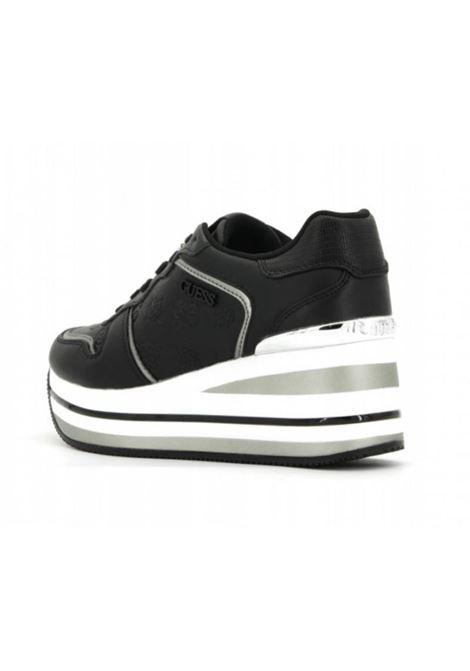 SNEAKERS ACTIVE HEKTORE LADY GUESS   Sneakers   FL7HEEFAB12BLKBR