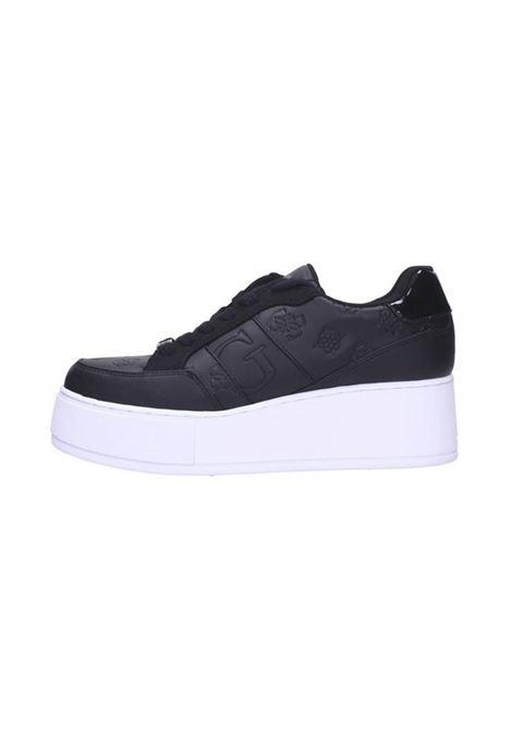 SNEAKER NEIMAN 4G LOGO GUESS | Sneakers | FL7NEIFAL12BLKBL