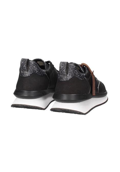 RUNNER MADE VERA PELLE 4G LOGO GUESS | Sneakers | FM7MADFAL12BLACK