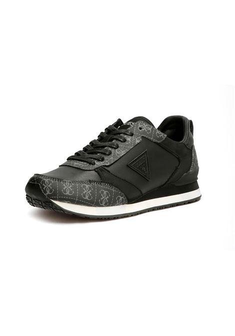 RUNNER NEW GLORYM 4G LOGO GUESS | Sneakers | FM7NGMFAL12BLKGR