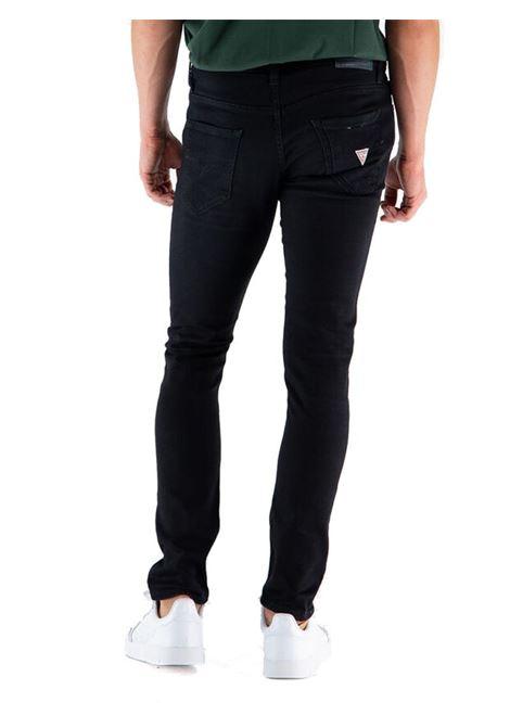 PANTALONE MIAMI 5T STRETCH GUESS | Pantalone | M1YAN1D4F531CRBBLACK