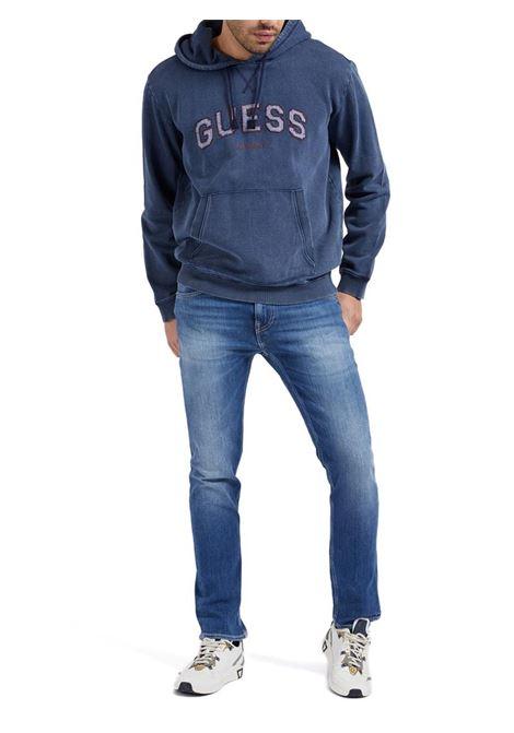 JEANS SLIM MIAMI GUESS | Pantalone | M1YAN1D4GV51CRMMID