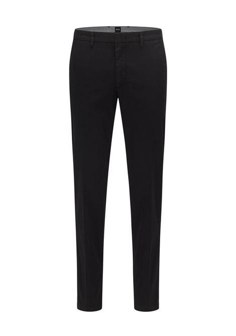 PANTALONE CHINO SLIM FIT HUGO | Pantalone | 50410310001BLACK