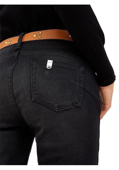 JEANS SKINNY LIU JO BLUE DENIM | Pantalone | UF1001D465088207BLACK