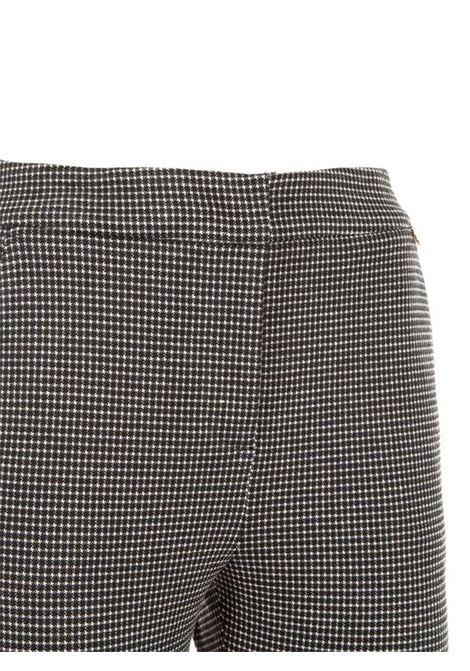 PANTALONI A SIGARETTA LIU JO COLLECTION | Pantalone | CF1355J1875Z9710BLACKWHITE