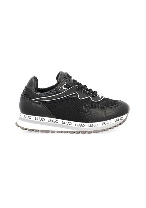 SNEAKERS CON INSERTI MESH LIU JO SHOES | Sneakers | 4F1817EX03022222BLACK