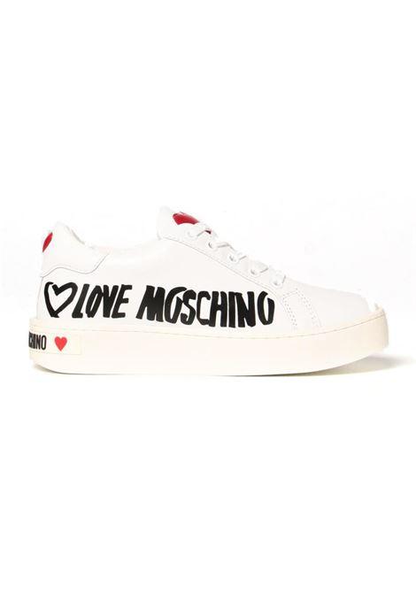 SNEAKERS STRINGATA LOVE MOSCHINO LOVE MOSCHINO | Sneakers | JA15123G1DIA0100VITBIANCO