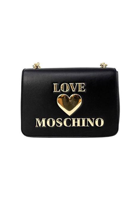 BORSA A TRACOLLA IN SIMILPELLE LOVE MOSCHINO | Borsa | JC4054PP0DLF0000NERO