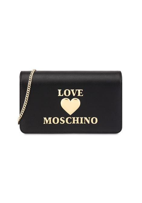 BORSA A TRACOLLA CON LOGO LOVE MOSCHINO | Borsa | JC4083PP0DLF0000NERO