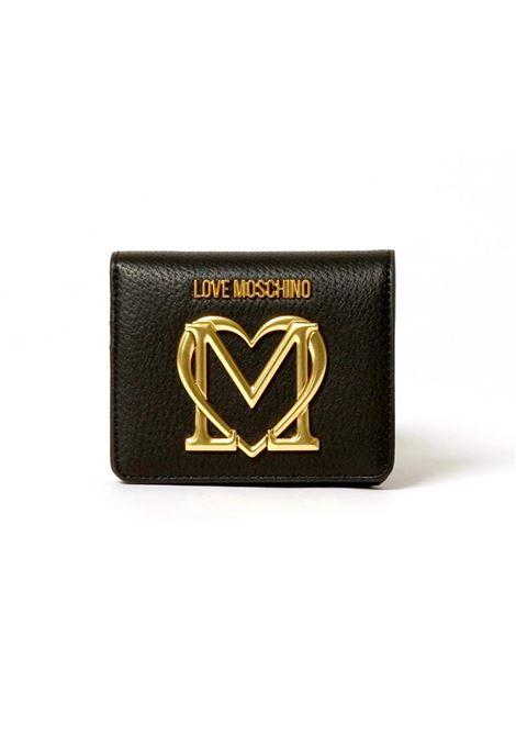 PORTAFOGLIO CON LOGO LOVE MOSCHINO | Portafoglio | JC5648PP1DLL0000NERO