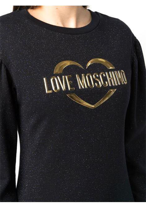 ABITO CON LOGO LOVE MOSCHINO | Abito | W5C4201M4308C74BLACK