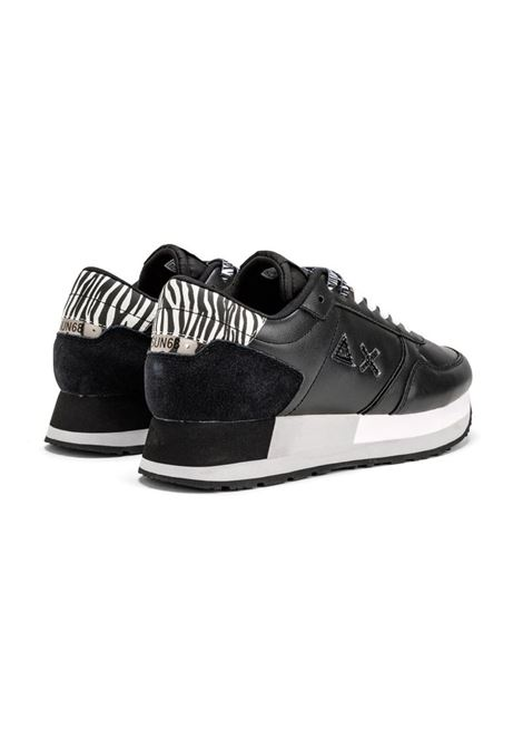 SNEAKERS KATE ANIMALIER SUN68   Sneakers   Z4122011NERO