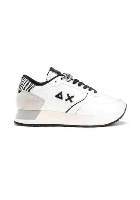 SNEAKERS KATE ANIMALIER SUN68   Sneakers   Z4122031BIANCOPANNA