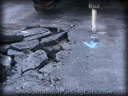 asphalt repair - asphalt patching -asphalt sealcoating