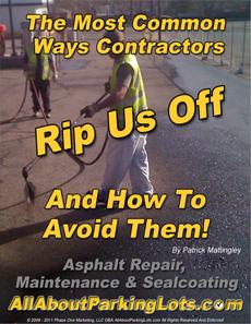 asphalt sealing scams eBook cover