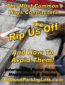 don't get ripped off by paver maintenance scams eBook