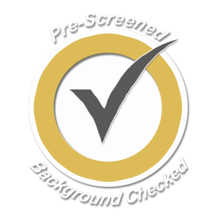 pre-screened and background checked